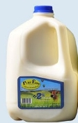 2% MILK (ONE GALLON) Order by Sunday