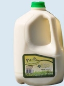 RAW MILK (ONE GALLON)  Order by Sunday