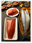 Sockeye Salmon Individual Filet ($13.59/lb.)
